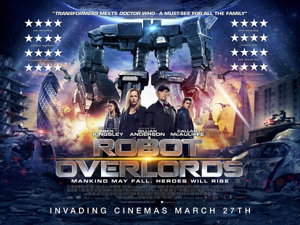 Robot Overlords - SciFi London