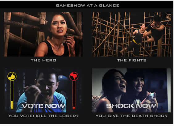 game show interactive cinema