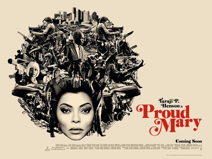 Proud Mary - Starring Taraji P. Henson