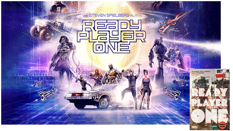 ready player one poster book