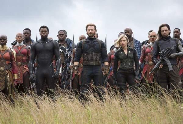 Avengers Infinity War Group Shot