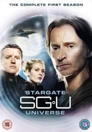 Stargate Univers DVD Cover