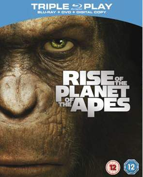 The Rise of the Planet of the Apes Blu-ray