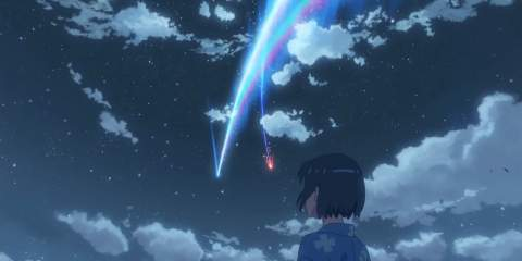 Your Name - The Comet splits in two