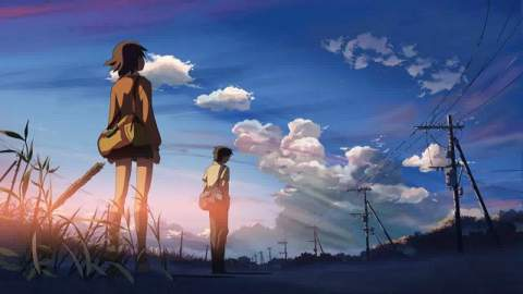 Your Name - Taki and Mitsuha