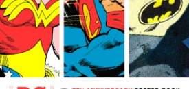 DC Comics 75th Anniversary Poster Book