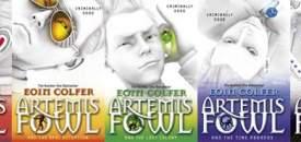 New Artemis Fowl Covers