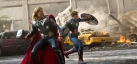 Avengers - Thor & Captain America