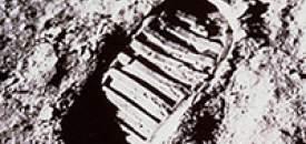 Neil Armstrong - Moon Footprint