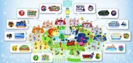 Nintendo Land Map