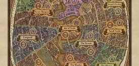 Discworld Ankh-Morpork Map