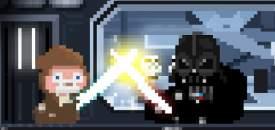Star Wars: Tiny Death Star - Obi Wan Vs Darth Vadar