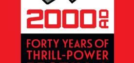 2000AD 40th Anniversary logo
