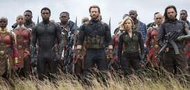 Avengers Infinity War Group Shot